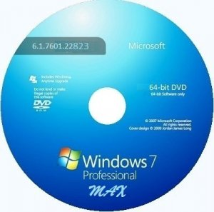 Microsoft Windows 7 Professional VL SP1 6.1.7601.22823 �64 RU MAX 1411 by Lopatkin (2014)
