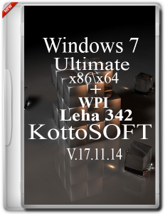Windows 7 Ultimate KottoSOFT V.17.11.14 (x86-x64) (2014) [Rus]