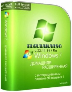 Windows 7 Home Premium SP1 Elgujakviso Edition v22.11.14 (x86-x64) (2014) [Rus]