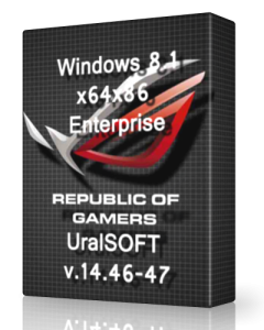 Windows 8.1 (x64-x86) Enterprise UralSOFT v.14.46-47 (2014) Русский