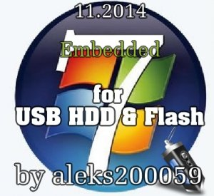 Windows 7 SP1 by aleks200059 (for USB HDD & Flash) (x86) [Eng/Rus]