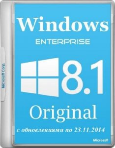 Windows 8.1 Enterprise Update 1 by D!akov (32bit+64bit) (23.11.2014) [Multi/Rus]