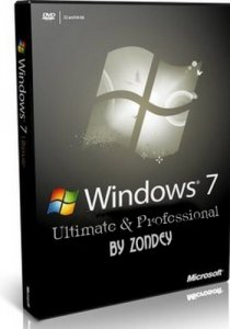 Windows 7 Ultimate Professional SP1 by zondey (x86-x64) (2014) [Rus]