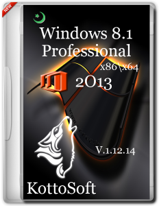 Windows 8.1 Professional Office 2013 KottoSoft V.11214 (x86 x64) (2014) Русский