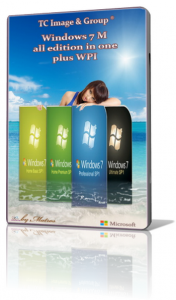 Windows 7M all edition in one plus WPI by Matros 05 (2014) (x32/х64) [RUS]