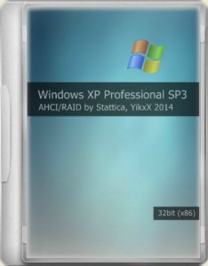 Windows XP Pro SP3 CD/USB AHCI-RAID by YikxX & Stattica 01.12.2014 (х86) (2014) [RUS]