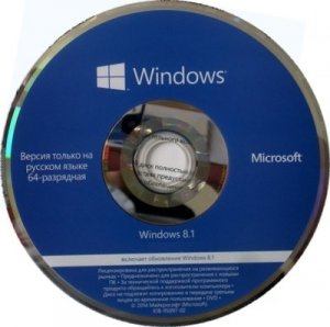 Microsoft Windows 8.1 Single Language 17476 x64 RU OEM STORE_141211 by Lopatkin (2014) Русский