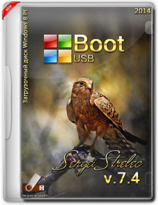 Boot USB Sergei Strelec 2014 v.7.4 (x86/x64/Native x86) (Windows 8 PE) [Rus]