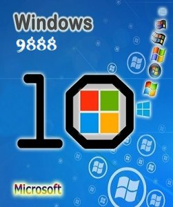 Microsoft Windows Technical Preview 10.0.9888 x64 EN-RU OEM PREMIUM_2x1 by Lopatkin (2014) Русский или Английский