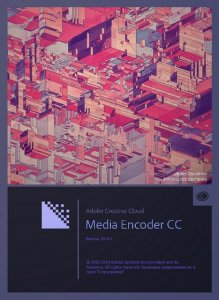 Adobe Media Encoder CC 2014.2 8.2.0.54 RePack by D!akov [Ru/En]
