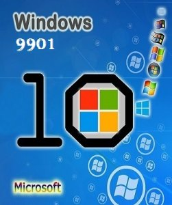 Microsoft Windows Technical Preview 10.0.9901 x64 EN-US PSHIK by Lopatkin (2014) Английский