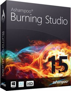 Ashampoo Burning Studio 15.0.2.2 RePack (& Portable) by KpoJIuK [Multi/Rus]