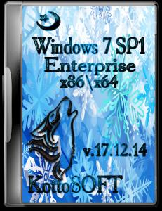 Windows 7 SP1 Enterprise KottoSOFT V.17.12.14 (x86 x64) (2014) [RUS]