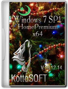 Windows 7 SP1 HomePremium KottoSOFT V.18.12.14 (x64) (2014) [RUS]