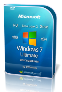 Windows 7 Ultimate SP1 NL3 by OVGorskiy� 12.2014 2 DVD (x86-x64) (2014) [Rus]