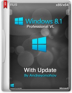 Windows 8.1 Professional VL with Update 3 by Andreyonohov 2DVD (x86-x64) (2014) [Rus]