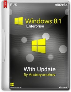 Windows 8.1 Enterprise with Update 3 by Andreyonohov 2DVD (x86-x64) (2014) [Rus]