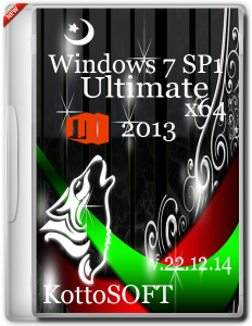 Windows 7 SP1 Ultimate Office 2013 KottoSOFT V.22.12.14 (x64) (2014) [RUS]