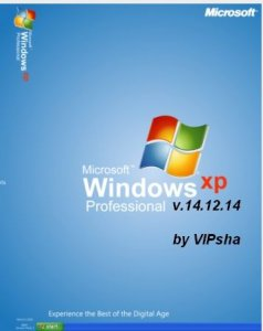 Windows XP Pro SP3 VLK v.14.12.14 by VIPsha (x86)(2014)[Rus]