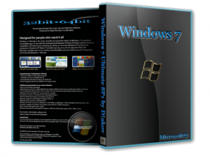 Windows 7 Ultimate SP1 by D!akov (32bit+64bit) (2014) [Multi/Rus]