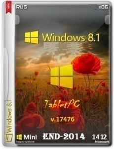 Microsoft Windows 8.1 17476 x86 RU TabletPC End-2014 by Lopatkin (2014) Русский