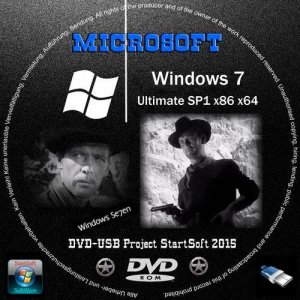 Windows 7 Ultimate SP1 StartSoft 1-2-01 (x86-x64) (2015) [Rus]