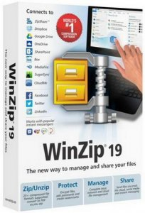 WinZip Pro 19.0 Build 11294 Final RePack by D!akov [Rus/Eng]