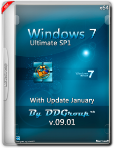 Windows 7 Ultimate SP1 x64 with Update (January) [v.09.01]by DDGroup™[Ru]