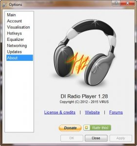DI Radio Player 1.28 [Eng]