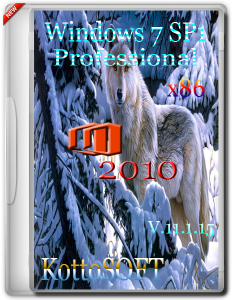 Windows 7 SP1 Professional Office 2010 KottoSOFT v.11.1.15 (x86) (2015) [Rus]