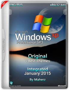 Windows XP Pro SP3 Integrated January 2015 By Maherz + Best Themes (x86) (2015) [Eng/Rus]