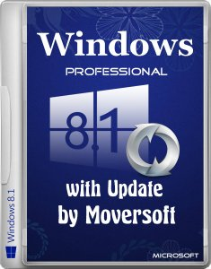Windows 8.1 Pro with update by MoverSoft 01.2015 (x64) (2015) [Rus]