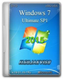 Windows 7 Ultimate SP1 by Elgujakviso Edition v19.01.15 (x86/x64) (2015) [Rus]