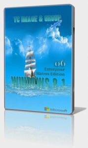 Windows 8.1 enterprise Matros Edition 06.2015 (x64x86) (21.01.2015) [RUS]