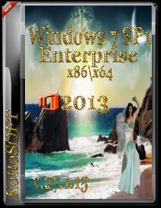 Windows 7 Enterprise Office 2013 KottoSOFT v.27.1.15 (x86-x64) (2015) [Rus]