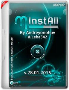 MInstAll v.28.01.2015 By Andreyonohov & Leha342 (x86-x64) (2015) [Rus]