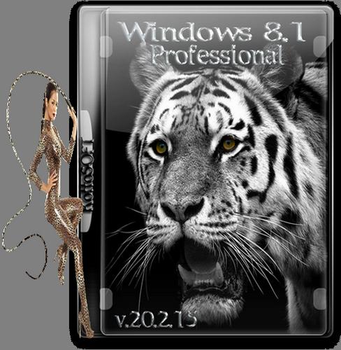 Windows 8.1 Professional vl KottoSOFT v.20.2.15 (x64) (2015) [Rus]