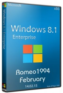 Windows 8.1 Enterprise (x86) Update For February by Romeo1994 (2015) Русский