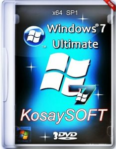 Windows 7 SP1 ultimate x64 KosaySOFT-BEYNEU 17.02.15 (2015) Русский