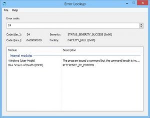 Error Lookup 2.0.6 + Portable [Multi/Rus]