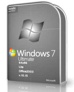 Windows 7 Ultimate SP1 & Office2003 by UralSOFT v.10.15 Lite (x86-x64) (2015) [Rus]