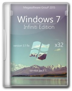 Windows 7 Ultimate Infiniti Edition by MSWare.ws 3.1 (x32) (2015) [Rus]