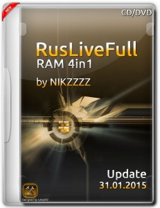 RusLiveFull RAM 4in1 by NIKZZZZ (31.01.2015) [Rus/Eng]