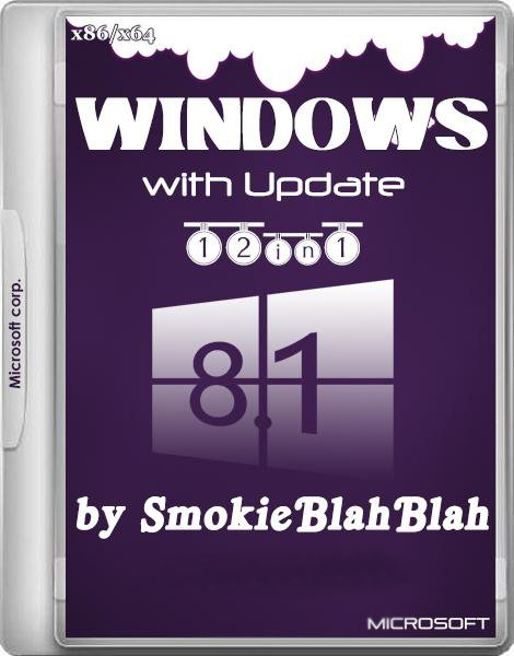 Windows 8.1 with Update 3 12in1 by SmokieBlahBlah 23.03.2015 (x86/x64) (2015) [Rus]