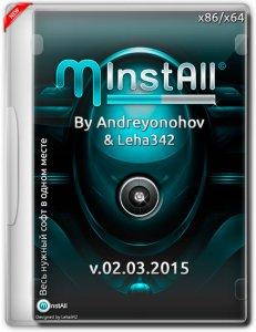 MInstAll v.02.03.2015 By Andreyonohov & Leha342 (x86-x64) (2015) [Rus]