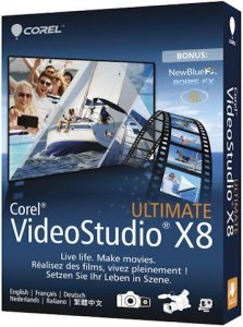 Corel VideoStudio Ultimate X8 18.0.0.181 (x64) + Content [Multi]