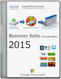 Lazesoft Recovery Suite 4.0.1 Unlimited Edition WinPE BootCD [Eng]
