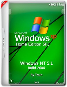 Windows XP Home Edition SP3 Windows NT 5.1 build 2600 (x86) (2015) [Rus]