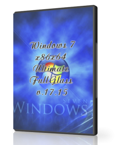 Windows 7 Ultimate FullGlass UralSOFT v.17.15 (x86-x64) (2015) [Rus]