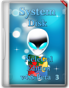System Disk NeleGal Edition v4.8 Beta 3 (x86-x64) (2015) [Rus]